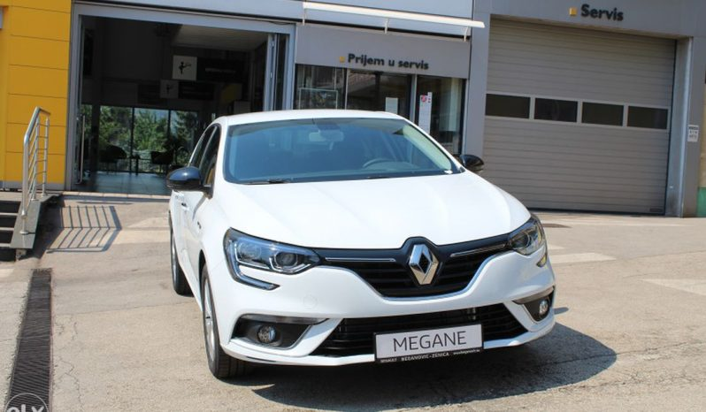 Renault MEGANE GrandCoupe LIMITED Blue dCi 95 full