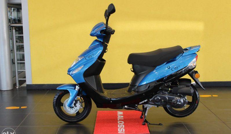 SONIC CITY+ 50 4T SKUTER MOTOCIKL -PLAVI full
